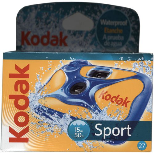 Kodak Disposible Waterproof Discontinued Manufacturer product image