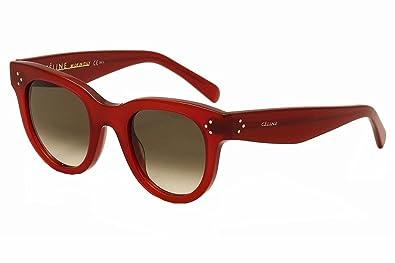 8960b346d6 Celine 41053S SQ1Z3 Red Baby Audrey Cats Eyes Sunglasses Lens ...