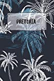 Pretoria: Ruled Travel Diary Notebook or Journey  Journal - Lined Trip Pocketbook for Men and Women with Lines