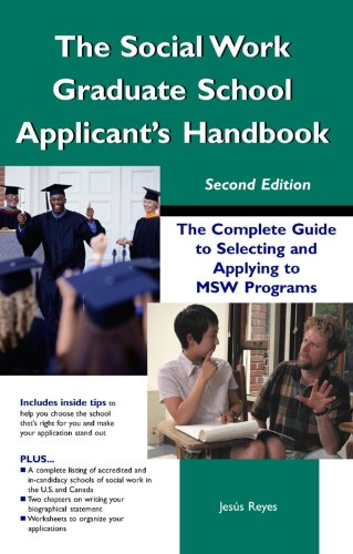 The social work graduate school applicants handbook the complete guide to selecting and applying to msw programs the social work graduate school applicants handbook the complete guide to selecting and applying to fandeluxe Choice Image