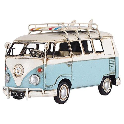 ブリキのおもちゃ B-クルマ08 アンティーク レトロ 車 クルマ ビンテージ クラシックカー フォルクスワーゲン VOLKSWAGEN バス ワーバス WAGEN BUS B079VCY87Vクルマ08