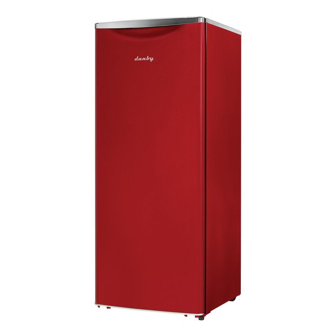 Danby DAR110A2LDB 11.0 cu.ft. Contemporary Classic All Refrigerator, Red