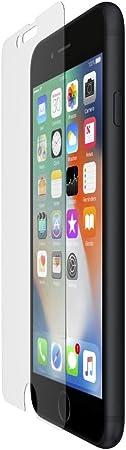 Belkin Screenforce Invisiglass Ultra Corning Glas Displayschutz Mit Verstärkung Durch Ionenaustausch Für Iphone 8 Plus 7 Plus Transparent Elektronik