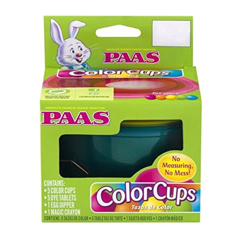 PAAS Color Cups