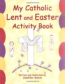 my catholic lent and easter activity book reproducible sheets for home and school