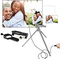 Universal Smartphone Quick with LAKWAR Cell Phone Adapter Mount Wire Shutter