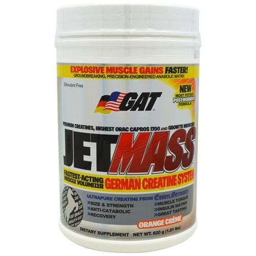 GAT JetMASS - Orange Creme - 1.81 lbs (820 g)