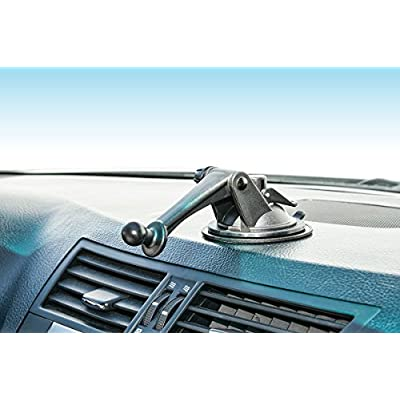 ARKON GN079WD Replacement Upgrade or Additional Windshield Dashboard Sticky Suction Mounting Pedestal with 3-Inch Arm for Garmin nuvi GPS: Car Electronics