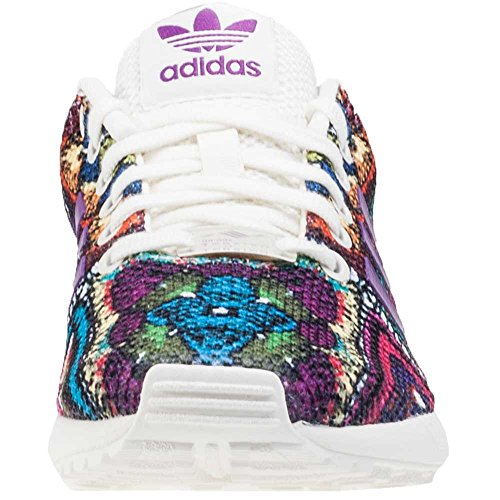 Shoes Shoes 2 Grape White 4UK 36 Originals EU 3 adidas Off ZX Mid Flux wI5qTv