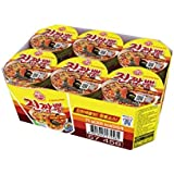 Ottogi Jin Jjambong Seafood Spicy Cup Noodle,  75 g  (Pack of 6)