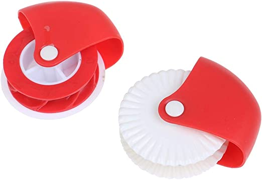 Pizza Pastry Lattice Pastry Pie Decoration Plastic Wheel Roller