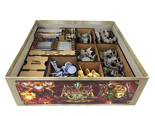 Organizador (Insert) para Arcadia Quest Inferno - Bucaneiros Jogos