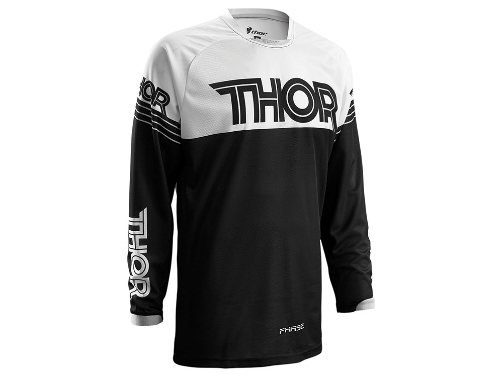 Maillot Cross Enfant THOR Phase Hyperion - Rouge / Blanc - Taille XS