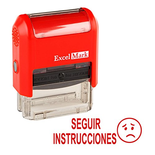 Spanish Teacher Stamp - SEGUIR INSTRUCCIONES