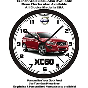 VOLVO XC60 WALL CLOCK-FREE USA SHIP!