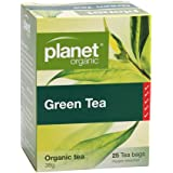 Planet Organic Green Tea 25 Teabags