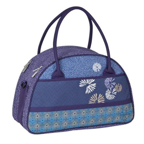 Lässig Casual Shoulder Bag Striped zigzag Bloom dark purple Bloom dark purple