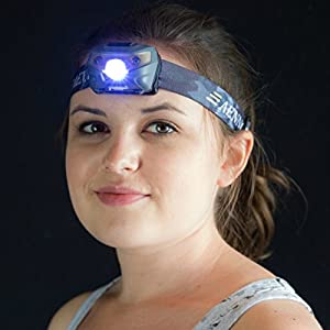 USB Rechargeable LED Headlamp Flashlight - Super Bright, Waterproof & Comfortable - Perfect Headlamps for Running, Walking, Camping, Reading, Hiking, Kids, DIY & More, USB Cable Included
