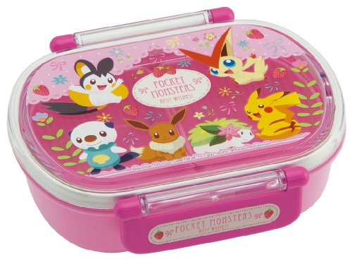 japanese licensed pokemon microwavable bento lunch box pink with license di. Black Bedroom Furniture Sets. Home Design Ideas