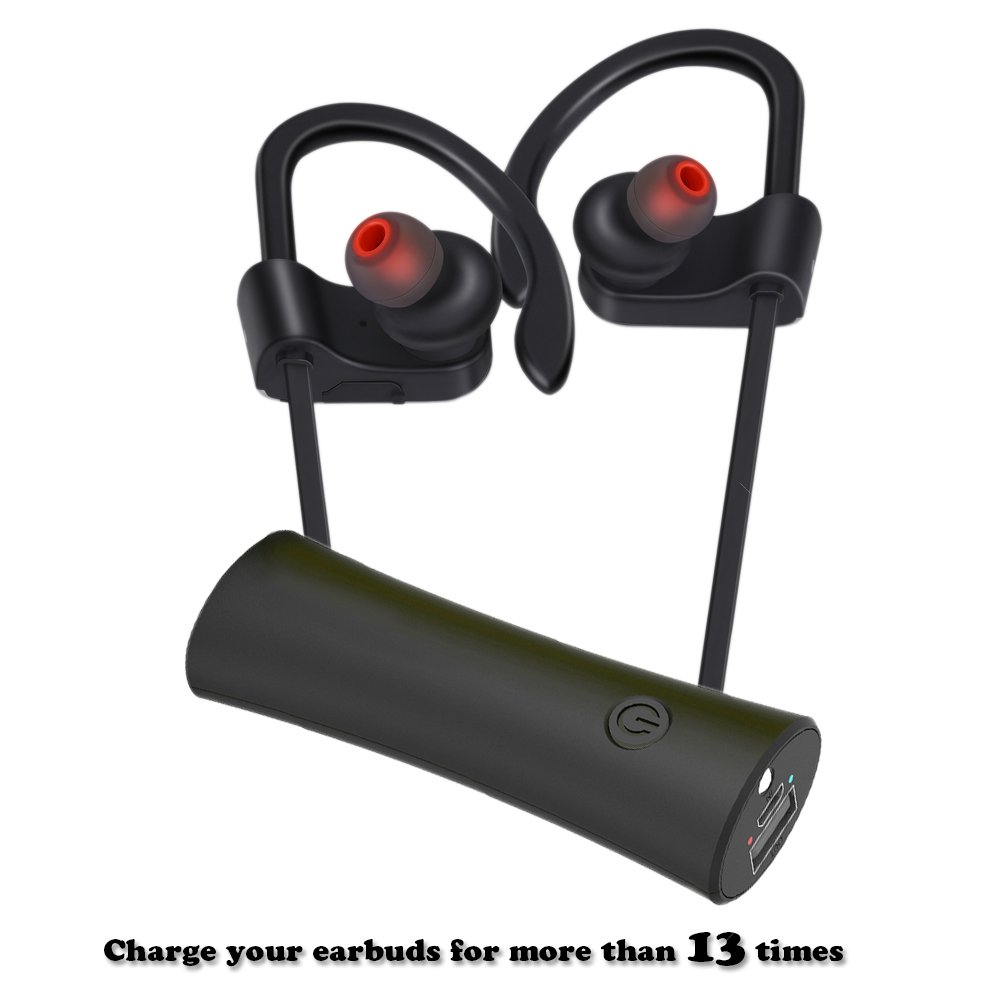 Ewarmer 2200mAh Powerbank for Bluetooth Earbuds (2 Packages), Portable Charger with USB Output, Portable Power Bank ,Battery Charger for iPhone 7/7 plus/6s/6s plus/ Samsung