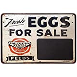 Fresh Eggs For Sale Reproduction Metal Sign 8x12 8123344