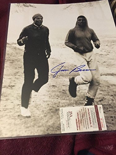 Muhammad Ali Signed Photo (Jim Brown Signed 16x20 Photo Auto Autograph with Muhammad Ali - JSA Authentic Autograph)