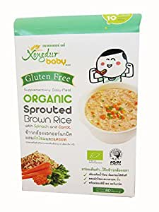 Xongdur Baby Organic Sprouted Brown Rice Gluten Free