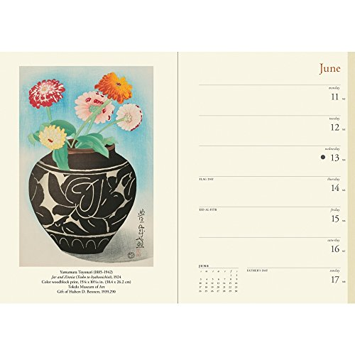 Japanese Woodblock Prints 2018 Engagement Planner Calendar Photo #2