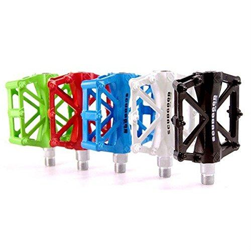 Aluminium scudgood pédales deux alliage multicolore de paliers Moppi vélo vélo BqAwgg