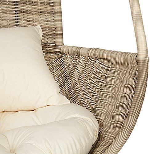 John Lewis Dante Pod Hanging Chair Natural Amazon Co Uk Garden Outdoors