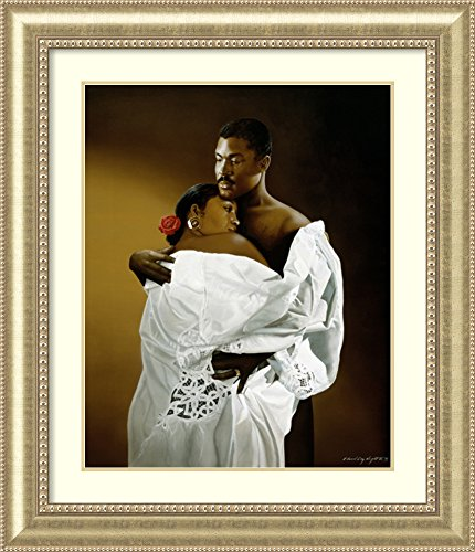 Framed Art Print 'Ebony Embrace' by Edward Clay ()