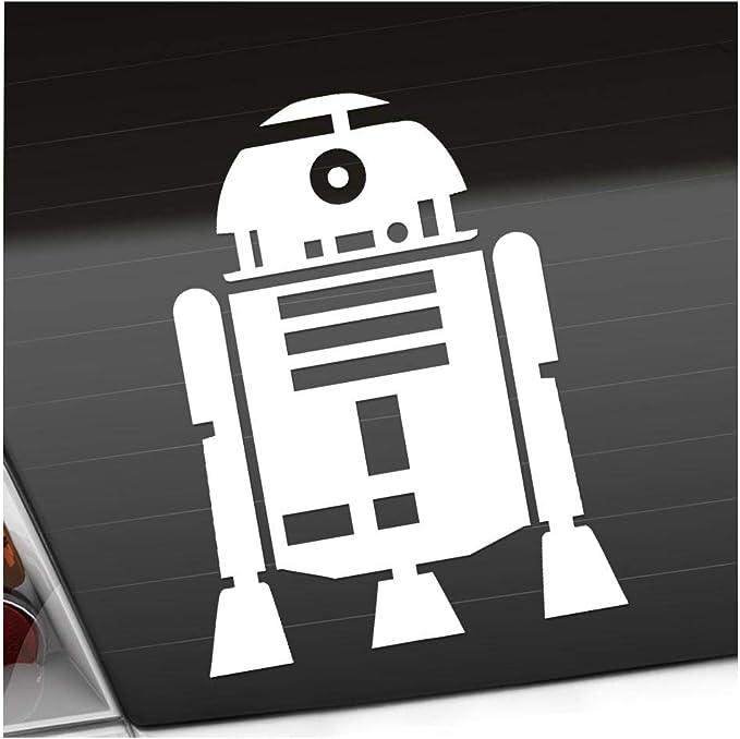 Kiwistar Aufkleber R2d2 Astromechdroide Autoaufkleber Sticker Bomb Decals Tuning Bekleben Auto