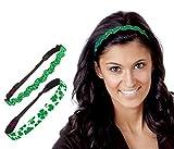 Hipsy Irish Green Headband St Patricks...