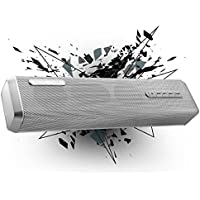 MUSIC ANGEL Bluetooth speaker V4.0 portable wireless speakers, 4000mAh 24-Hour Battery Life, 10W Bass Output, Support connect with TV, and Phone