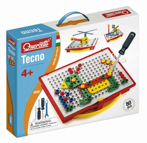 Games for 5 year old boys  Quercetti Tecno Building Toy
