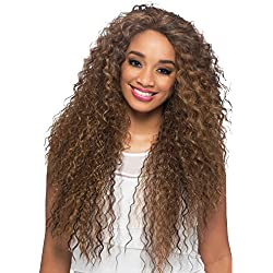 Vivica A Fox Hair Collection Sobe Swiss Front Lace Full Lace Front Wig, 1, 12.8 Ounce
