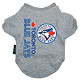 MLB Toronto Blue Jays Pet T-Shirt, Team Color, Medium