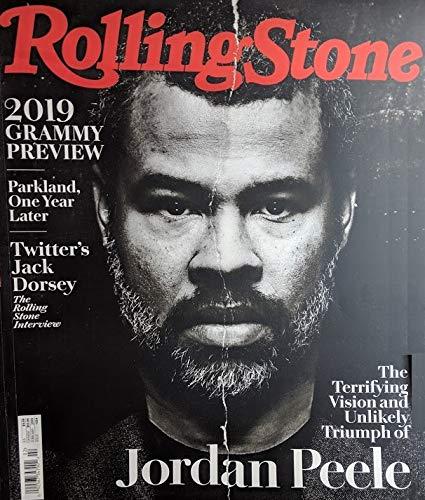 (Rolling Stone Magazine (February, 2019) Jordan Peele Cover)