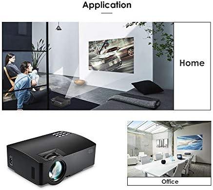 ALWAYZZ Proyector A8 1500LM 854 * 480 Soporte HD 1080P BT4.0 4K ...