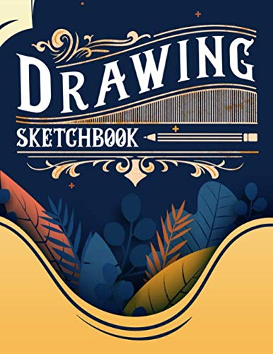 Drawing Sketchbook: Paperback - 8.5 x 11 -100 Pages (Difference Between A Sketch And A Drawing)