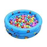 Best Paddling Pools - Drasawee Kids 3 Rings Inflatable Bath Tub Swimming Review