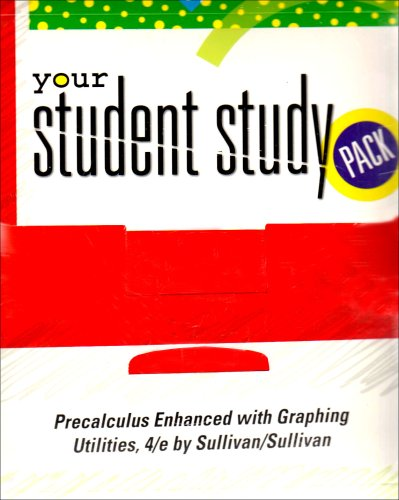 Precalculus Enhanced with Graphing Utilities, 4/e (Student Study Pack)