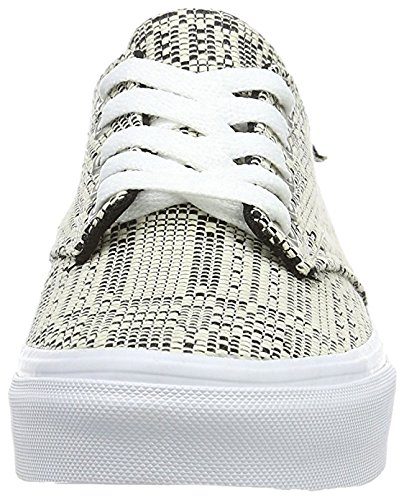 Nero Donna Wm Camden Basse Sneaker Vans bianco Deluxe wqU4PYYxR