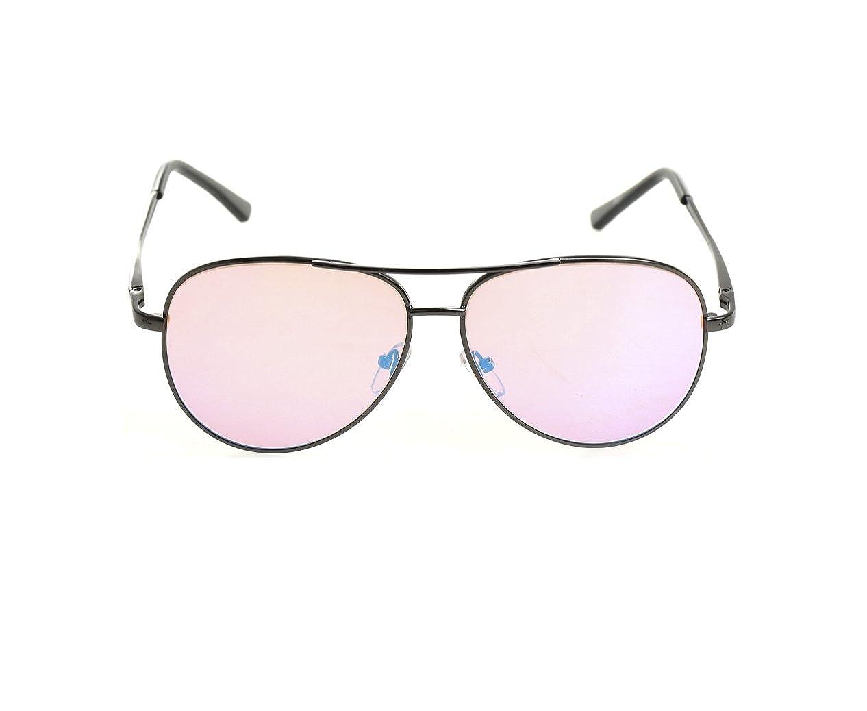 5a5eda1f63 Pilestone Color Blind Glasses TP-006 Aviators for Red Green Color Blindness