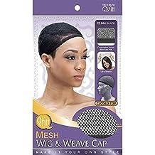 (6 Pack) Qfitt – Closed Top Mesh Wig & Weave Cap #504