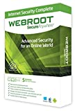 webroot 5 devices internet security complete