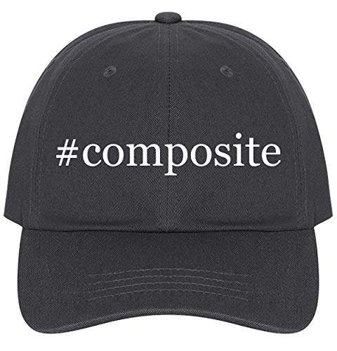 The Town Butler #Composite - A Nice Comfortable Adjustable Hashtag Dad Hat Cap, Dark Grey, One Size (Best Composite Decking 2019)