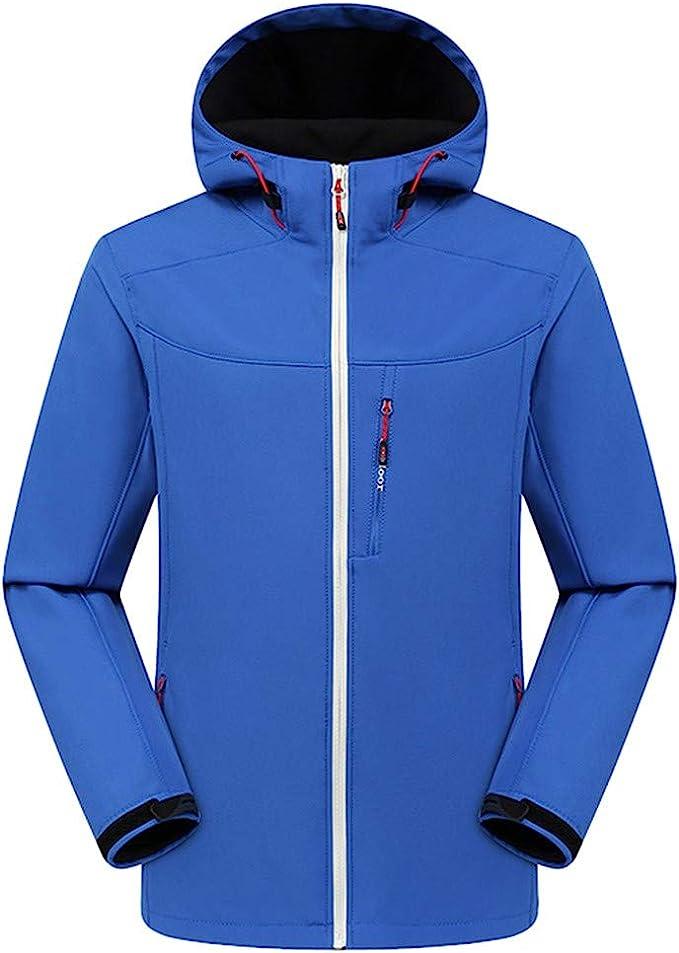Outdoor Herren Jacke Regenjacke Softshelljacke wasserdicht atmungsaktiv blau
