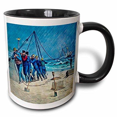 Coast Mug Guard (3dRose mug_8484_4 Mug, Multicolor, 11 oz)
