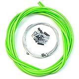 WINOMO Bike Bicycle Universal Brake Cable and Housing Set (Green)